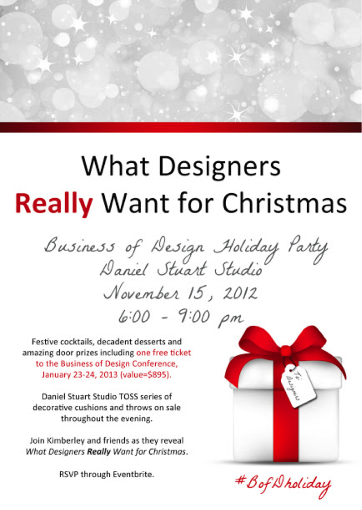 Holiday Party, November 15: Last Chance for Tickets! - Business of ...