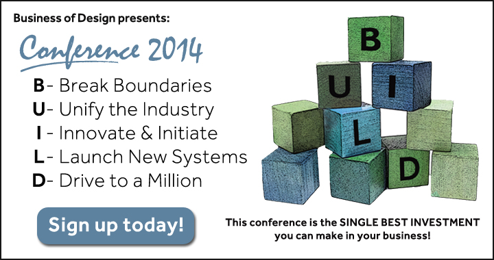 Ready to BUILD Your Better Business? Attend Conference'14! featured image