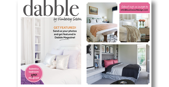 Win an Editorial Spread in Dabble Magazine! featured image
