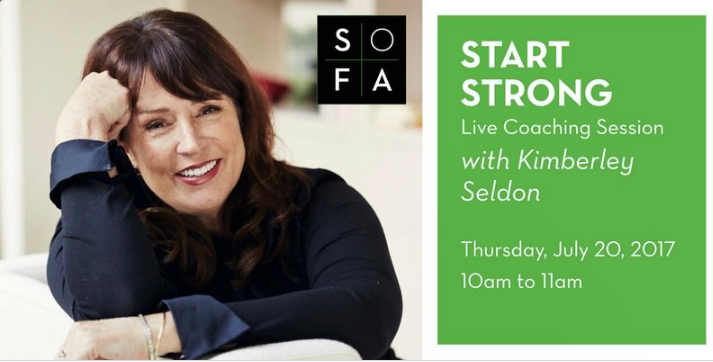 START STRONG: Live Coaching at SOFA | July 20 featured image